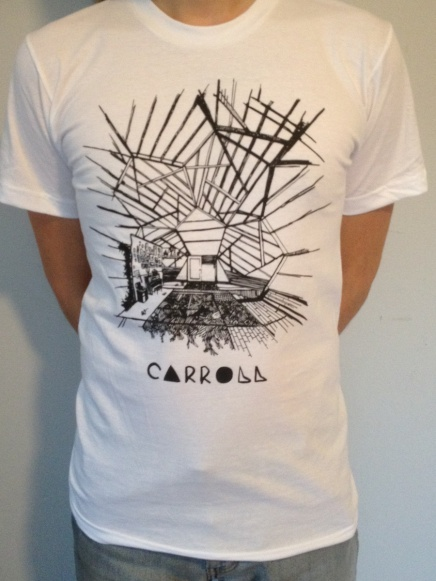 $15 : http://carroll.bandcamp.com/merch/carroll-structure-t-shirt-desgined-in-mpls