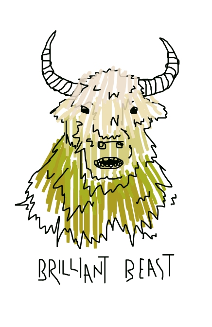 Brilliant Beast Graphic Design 2014