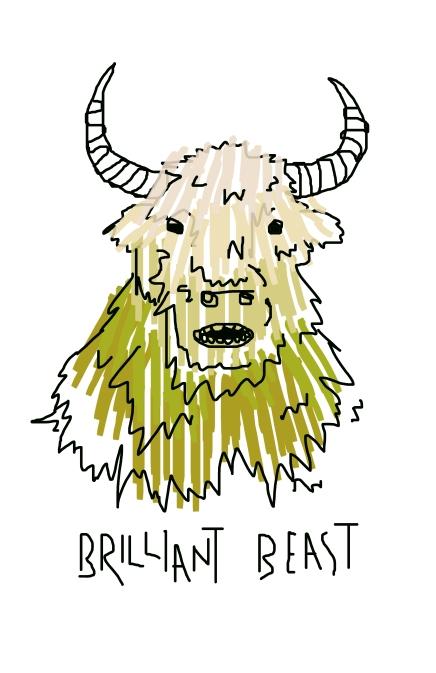 Brilliant Beast Graphic Design 2014