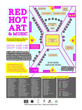 Red Hot Art Brand & Event Design 2014
