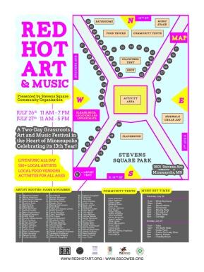 Red Hot Art Brand & Event Design 2014