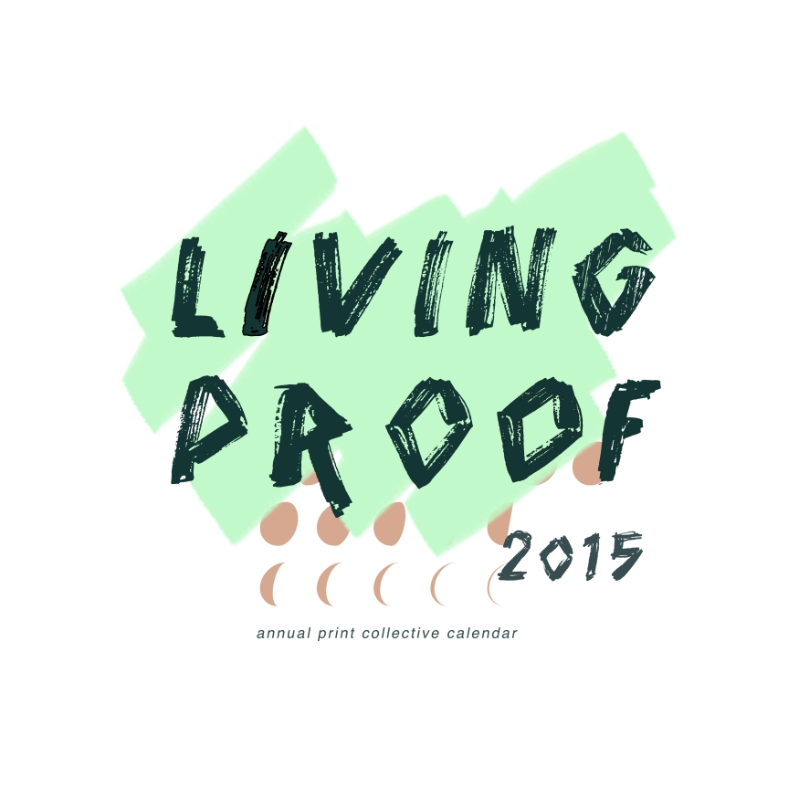 Living Proof Front Cover Design by Paige Guggemos - 2015