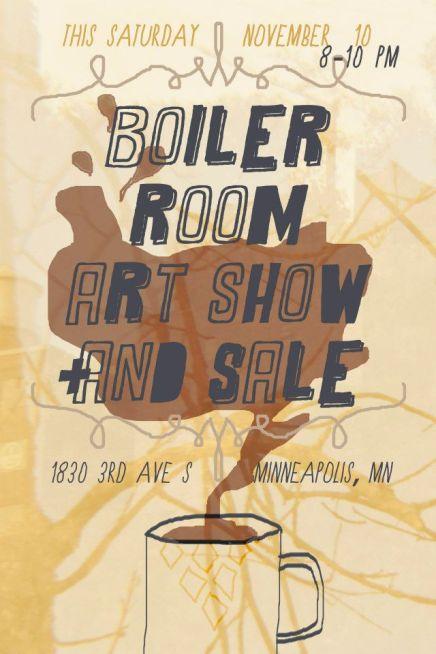Art Show Flyer 2012