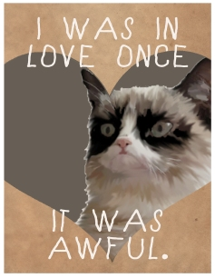 Grump Cat Love Valentine