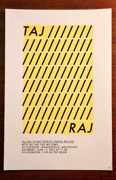 Poster Design & Screenprint